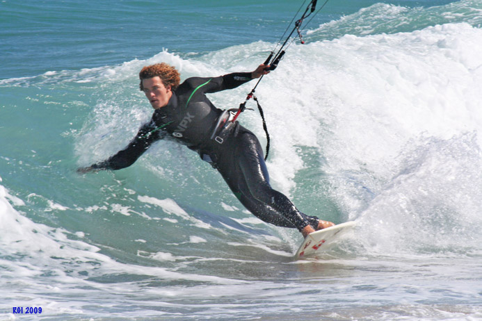 how to connect kitesurfing bar